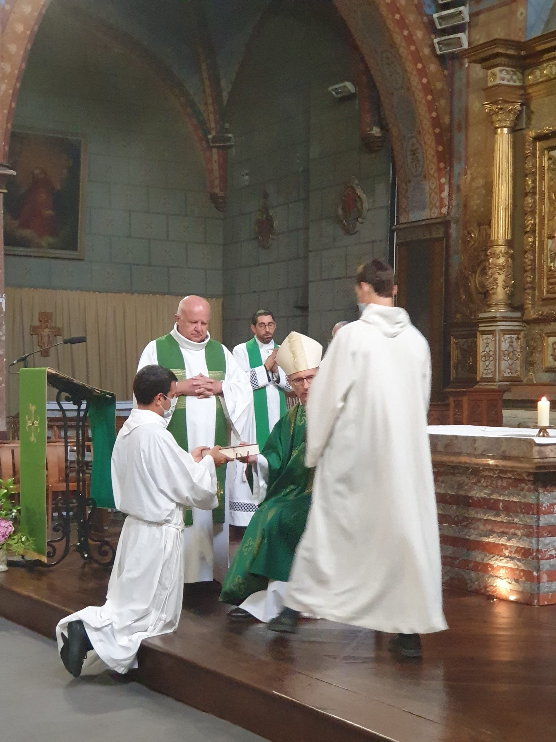 Communauté paroissiale de Vic-Bigorre, Andrest et Enclaves